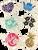 "Tiki Toes 2"" Sticker in the 5 designs: Hawaii Heart, Hawaii Hibiscus, Aloha Ball, Mini Shaka, Pineapple"