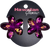 Dark Purple Painted Mini Hair Clips by Hawaiian Glamour