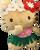 Hello Kitty - Plush 6 inch in Hula Kiss design