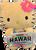 Hello Kitty - Plush 6 inch in License plate design