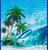Hawaii Reusable Bags - Assorted Designs in Island Waves design