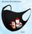 3D Aerosilver Christmas Fashion Mask in island snowman design