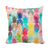 Island Pillow Collection in Rainbow (Pineapples) design