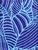 Napua Collection - Cover Ups in Waimea Leaves-Blue print