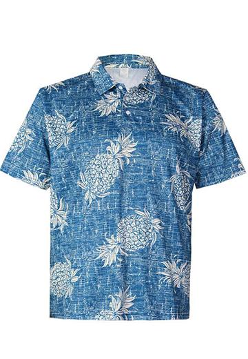 Island Girl®  Surf Tee - Aloha Garden in Raspberry Color