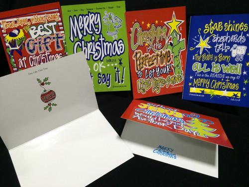 Woggle Christmas Cards