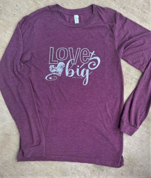Love Big Long Sleeve