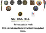 Notting Hill Decorative Hardware - The Beauty is in the Details