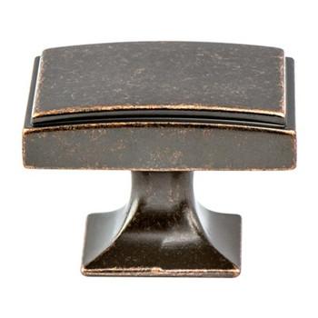 "Berenson, Hearthstone, 1 9/16"" Knob, Weathered Verona Bronze"