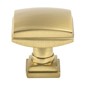"Berenson, Tailored Traditional, 1 1/4"" Knob, Modern Brushed Gold"