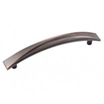 "Amerock, Extensity, 5 1/16"" (128mm) Curved Pull, Oil Rubbed Bronze"