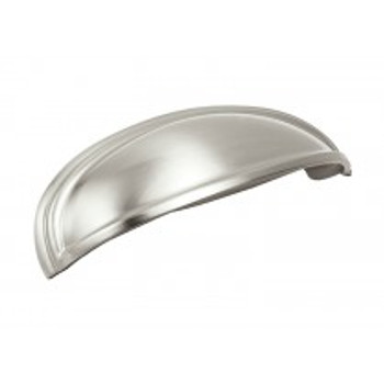 """Amerock, Ashby, 3"""" and 4"""" Cup Pull, Satin Nickel"""