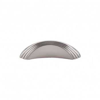 "Top Knobs, Passport, Sydney, 2"" Flair knob, Brushed Satin Nickel"