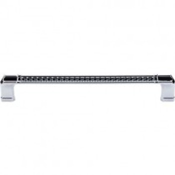 """Top Knobs, Passport, Tower Bridge, 12"""" (305mm) Appliance pull, Polished Chrome"""