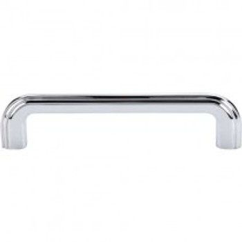 """Top Knobs, Passport, Victoria Falls, 5"""" Straight pull, Polished Chrome"""