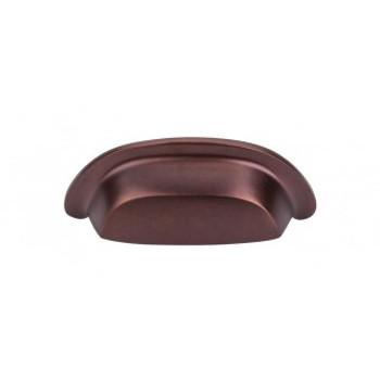 "Top Knobs, Aspen, 3"" Cup pull, Mahogany Bronze"