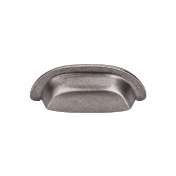 "Top Knobs, Aspen, 3"" Cup Pull, Silicon Bronze Light"