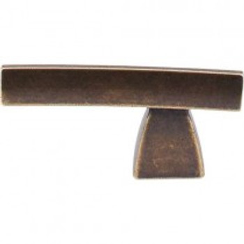 "Top Knobs, Sanctuary, Arched, 2 1/2"" Pull knob, German Bronze"