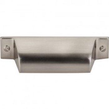 "Top Knobs, Barrington, Channing, 2 3/4"" Cup pull, Brushed Satin Nickel"