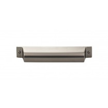 "Top Knobs, Barrington, Channing, 5"" Cup Pull, Ash Gray"