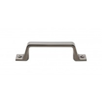 "Top Knobs, Barrington, Channing, 3"" Straight Pull, Ash Gray"