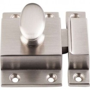 "Top Knobs, Additions, 2"" Cabinet Latch, Brushed Satin Nickel"