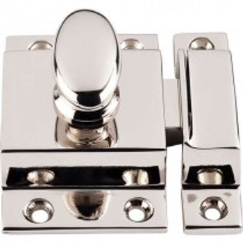 "Top Knobs, Additions, 2"" Cabinet Latch, Polished Nickel"