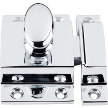 "Top Knobs, Additions, 2"" Cabinet Latch, Polished Chrome"