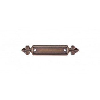 Top Knobs, Tuscany, Dover Pull Backplate, German Bronze