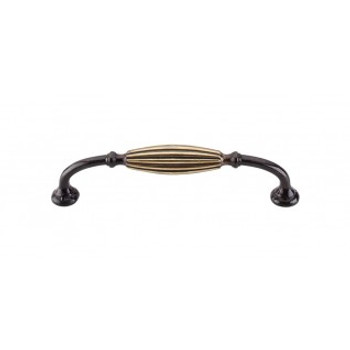 "Top Knobs, Tuscany, 5 1/16"" (128mm) Curved pull, Dark Antique Brass"