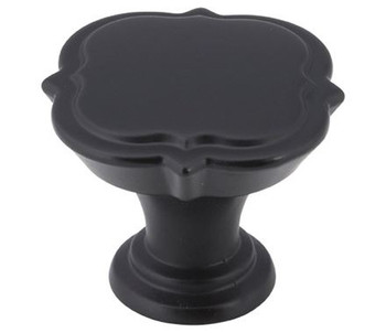 "Amerock, Grace Revitalize, 1 3/8"" (35mm) Round knob, Black Bronze"