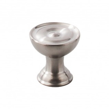 """Top Knobs, Stainless Steel, 1"""" Round Knob, Stainless Steel"""