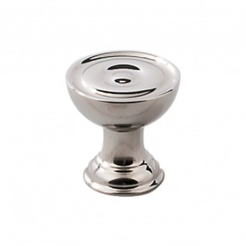"""Top Knobs, Stainless Steel, 1"""" Round Knob, Polished Stainless Steel"""