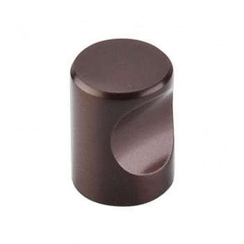 """Top Knobs, Nouveau II, 3/4"""" Indent Round, Oil Rubbed Bronze"""
