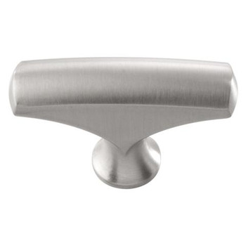 "Belwith Hickory, Greenwich, 1 11/16"" Pull Knob, Stainless Steel"