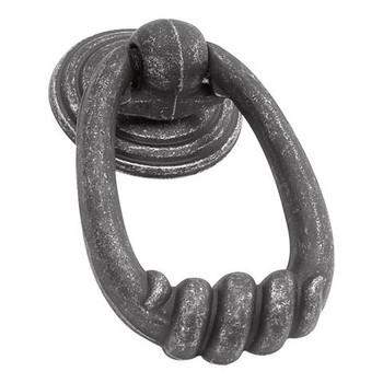 """Belwith Hickory, Manchester, 2 3/16"""" Ring Pull, Vibra Pewter"""