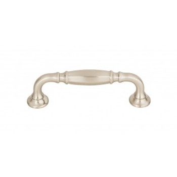 "Top Knobs, Grace, Barrow, 3 3/4"" (96mm) Straight Pull, Brushed Satin Nickel"