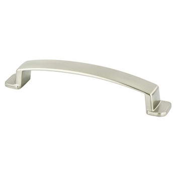 "Berenson, Oasis, 5 1/16"" (128mm) Curved Pull, Brushed Nickel"