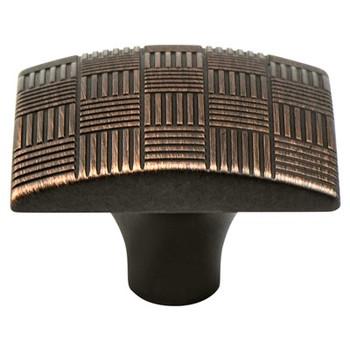 "Berenson, Virtuoso, 1 3/8"" Square knob, Verona Bronze"
