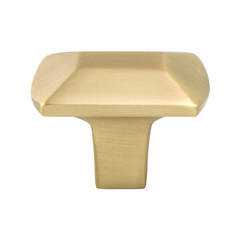 "Berenson, Laura, 1 7/16"" Rectangle Knob, Modern Brushed Gold"