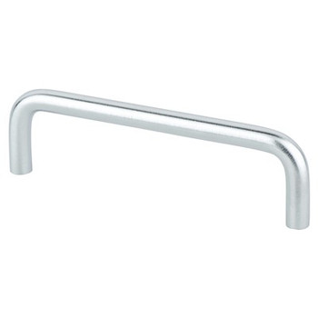 "Berenson, Zurich, 4"" Wire pull, Brushed Chrome"