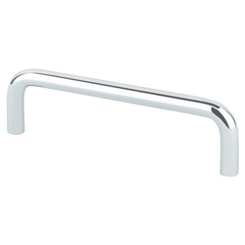 "Berenson, Zurich, 4"" Wire pull, Polished Chrome"