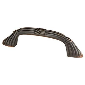 """Berenson, Toccata, 3"""" Curved Pull, Verona Bronze"""