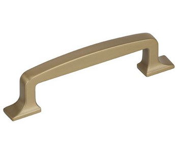 "Amerock, Westerly, 3 3/4"" (96mm) Straight Pull, Golden Champagne"