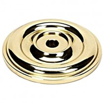 "Alno, Bella, 1 5/8"" Rosette, Polished Brass"