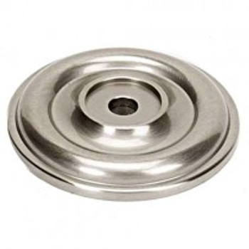 "Alno, Bella, 1 5/8"" Rosette, Satin Nickel"