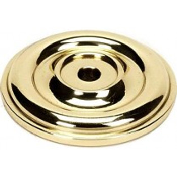 "Alno, Bella, 1 3/8"" Rosette, Polished Brass"