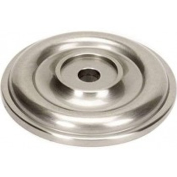 "Alno, Bella, 1 3/8"" Rosette, Satin Nickel"