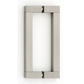 "Alno, Block, 6"" Back-to-Back Pull, Satin Nickel"