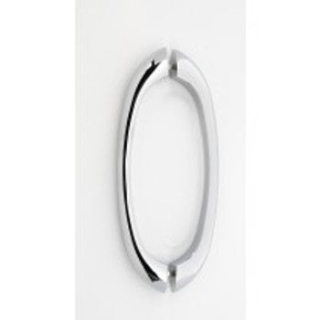 """Alno, C855 Series, 8"""" Back-to-Back pull, Polished Chrome"""